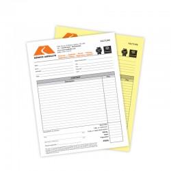 Formulaires NCR 2 copies, 4/0