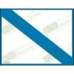 Bande et cadre bleu seulement pour permis ou certificat sur papier 16 millièmes pour imprimante (paquet de 25), FLA630/215F
