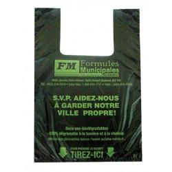Sacs Biodégradables pour conteneur en paquet de 500, FDA002